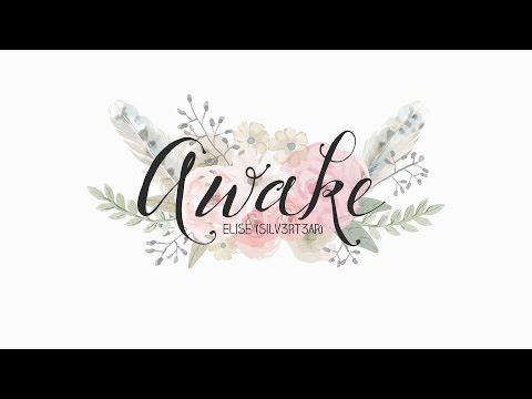 (Acoustic English Cover) Jin (BTS) - Awake | Elise (Silv3rT3ar) #HappyJinDay