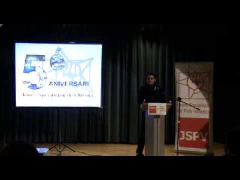 II Parte, intevernción Fernando en el 5é Aniversari Joves Socialistes de l'Alcora