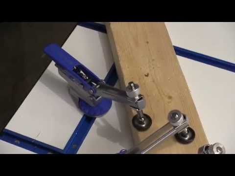 Rockler Auto-Lock T-Track Hold Down Clamp Review by NewWoodworker