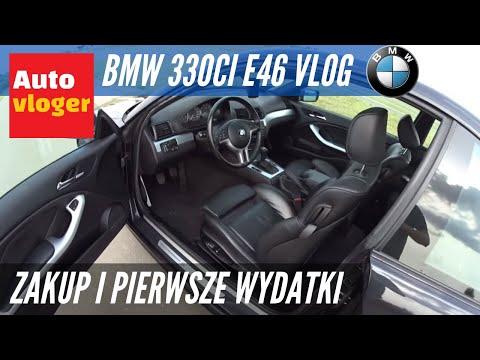 BMW 330Ci E46 Vlog - przebieg, nieśmiertelny akumulator, pierwsze wydatki