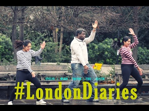 Mallu Girls & Trevor Gill Dancing In The Streets Of London!!!!