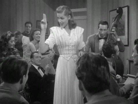 Lauren Bacall singing