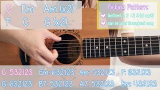 "Video ""Can't Help Falling in Love"" - Elvis Presley EASY Guitar Tutorial/Chords (No Capo!) MP3, 3GP, MP4, WEBM, AVI, FLV Juni 2018"