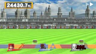 Pretty sure my friend and I just broke the Home Run Contest world record on Smash 4