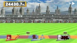 Pretty sure my friend and I just broke the Home Run Contest world record on Smash 4