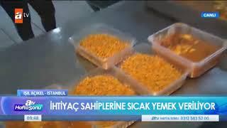 Gaziosmanpaşa Belediyesi Aşevi Hizmeti - Atv