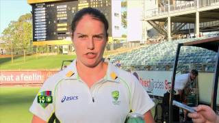 Rene Farrell press conference - Ashes day one