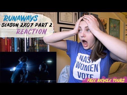 "Marvel's Runaways Season 2 Episode 7 ""Last Rites"" REACTION Part 2"