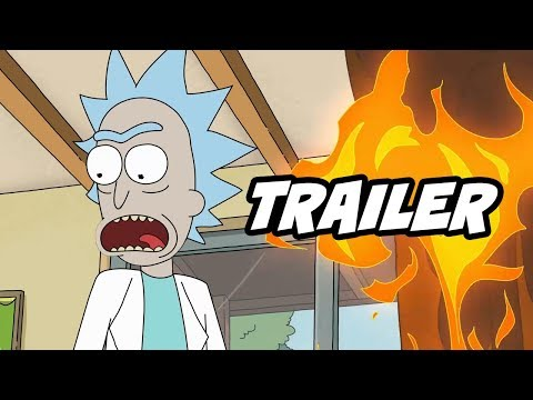 Rick and Morty Season 4 Episode 4 Trailer Breakdown and Easter Eggs