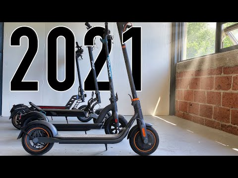 10 Best Electric Scooters of 2021