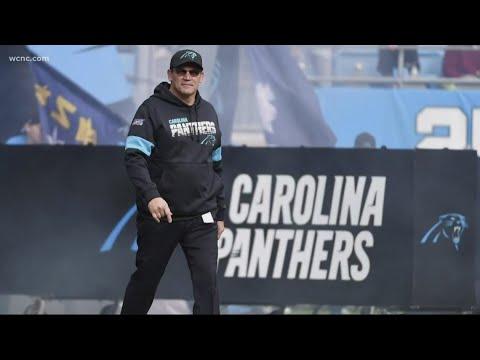 Ron Rivera fired as Carolina Panthers head coach