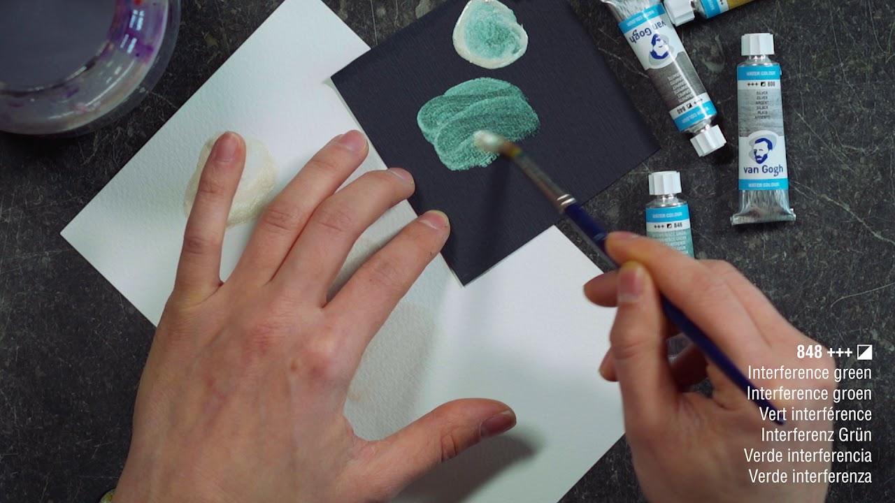 """Акварель Talens """"Van Gogh"""" в кювете, все цвета + NEW видео"""