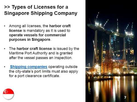 Shipping Company in Singapore