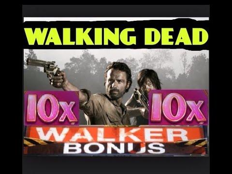 **CDC WHEEL 10x WALKER BONUS** The WALKING DEAD Slot machine MAX BET HUGE WIN!