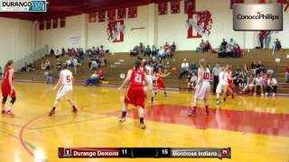 Girls Durango Demons Vs. Montrose Indians
