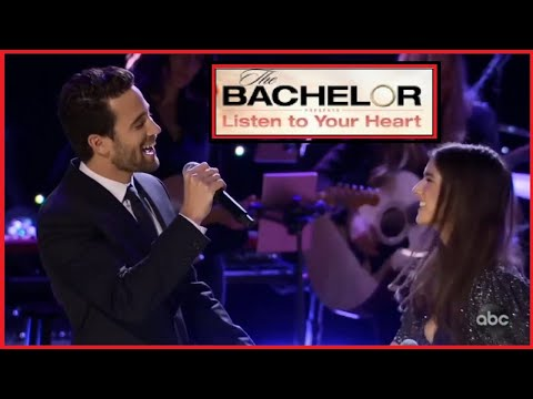 Jamie and Trevor - Listen to Your Heart FINALE The Bachelor - Singing Unchained Melody