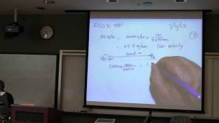 Introduction to Robotics Course -- Lecture 8 - Senors:  IR and Sonar