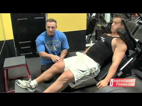 Instructional Fitness – Hack Squats