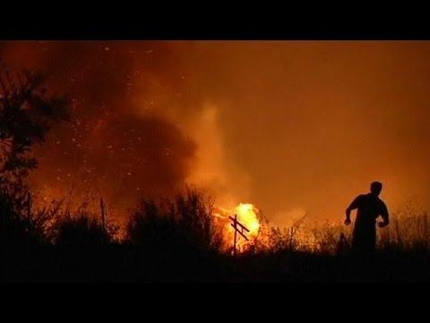 Σε πύρινο κλοιό η Ισπανία-προληπτική απομάκρυνση 2.400 κατοίκων στην Εστρεμαδούρα
