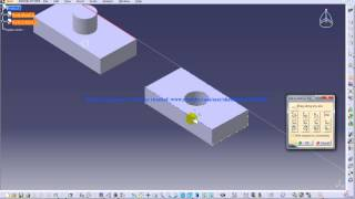 Catia V5|Assembly Design|Move|Manipulation Tool|Part 2