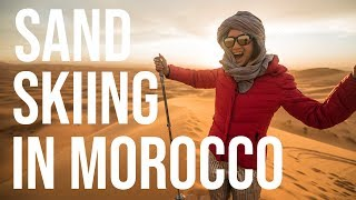 A Sand Skiing Adventure In Morocco | Tastemade Travel by Tastemade