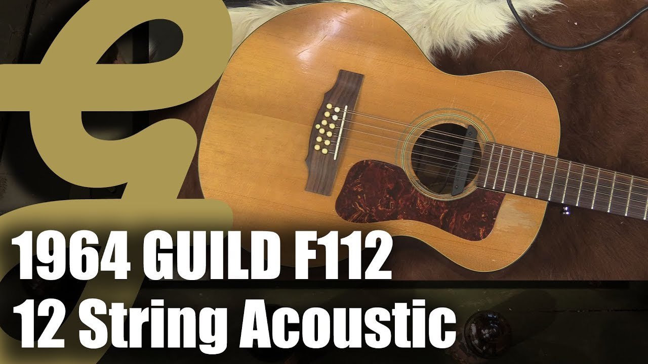 1964 Guild F112 Acoustic Guitar