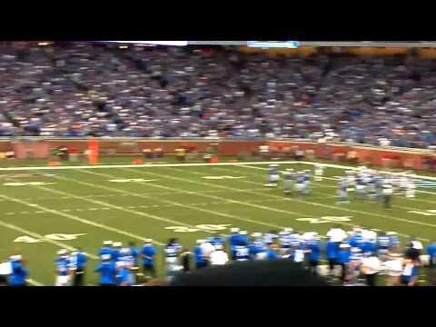 Detroit Lions winning drive vs. St. Louis Rams, 9/9/2012