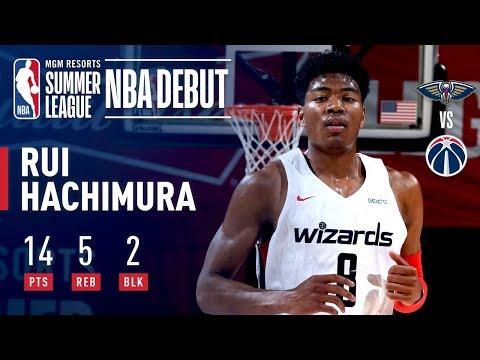 Video: Rui Hachimura Impresses In Summer League Debut | July 6, 2019