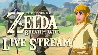The Legend of Zelda: Breath of the Wild | Nintendo Switch | LIVE STREAM