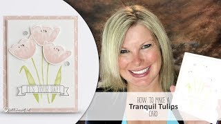 """Free pdf: http://stampwithtami.com/blog/2017/06/stampin-up-tranquil-tulips-birthday/ day. To kick it off, I'll be making this gorgeous card featuring the Tranquil Tulips Hostess Stamp set live on Facebook at noon EST. Following the live broadcast, you will be able to order from the new catalog at 2pm EST (which is 12pm MT).This card is so pretty. I am in love with the stamp set. It's a hostess set, so it's only available free as a Stampin Rewards choice. What are Stampin Rewards? They are free products you earn when with $150 order/workshop/club/etc. My VIP club hostesses will have the option to choose this set on their hostess month. If you want a few products in the new catalog, it's the perfect time to join my club.——— S U P P L I E S ———• Tranquil Tulips Photopolymer Stamp Set 143767  ——  https://ldli.co/e/m4ynd• Happy Birthday Gorgeous Photopolymer Stamp Set 143662  ——  https://ldli.co/e/eoylp• Number Of Years Photopolymer Stamp Set 140653  ——  https://ldli.co/e/qrx05• Whisper White 8-1/2X11 Card Stock #100730  ——  https://ldli.co/e/j0y6p• Powder Pink 8-1/2"""" X 11"""" Cardstock 144244  ——  https://ldli.co/e/yr6lk• Fresh Florals Designer Series Paper Stack 144131  ——  https://ldli.co/e/pql06• Smoky Slate Classic Stampin' Pad #131179  ——  https://ldli.co/e/rr141• Powder Pink Classic Stampin' Pad 144084  ——  https://ldli.co/e/ogr71• Blushing Bride Classic Stampin' Pad #131172  ——  https://ldli.co/e/l3yrp• Lemon Lime Twist Classic Stampin' Pad 144086  ——  https://ldli.co/e/xmnod• Basic Black Archival Stampin Pad #140931  ——  https://ldli.co/e/14qd7• Clear Faceted Gems 144142  ——  https://ldli.co/e/d9yq5• Big Shot Die-Cut Machine #143263  ——  https://ldli.co/e/z4gxz• Stampin' Trimmer #126889  ——  https://ldli.co/e/9lxm4• Paper Snips #103579  ——  https://ldli.co/e/k4pnm• Bone Folder #102300  ——  https://ldli.co/e/7po5q• Stampin' Dimensionals #104430  ——  https://ldli.co/e/n0ylm• Snail Adhesive #104332  ——  https://ldli.co/e/6pqnlBe sure to join my social media Tami White"""