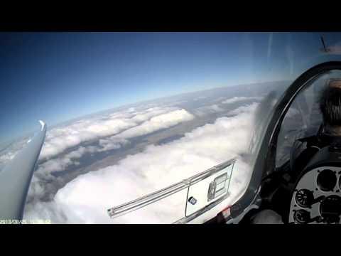 Vuelo en onda sobre llanura (mountainless) - HD (видео)