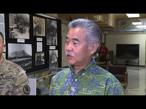 Gov. Ige, emergency officials on text alert error