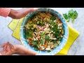 Roasted Cauliflower & Sweet Potato Salad