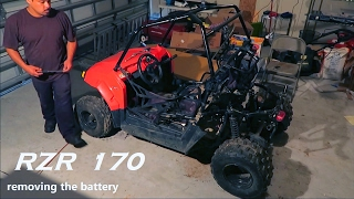 9. Polaris RZR 170 | Removing Rear Plastic Body Panels