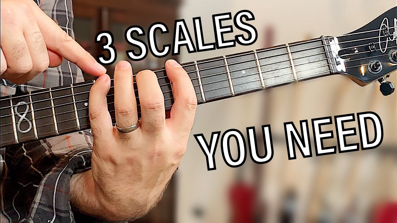 You cannot exist without these – 3 Scales lesson