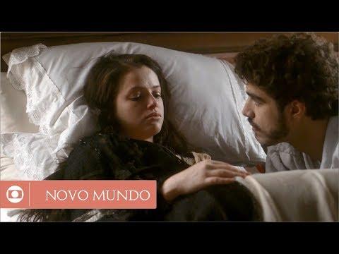 Novo Mundo: capítulo 121 da novela, quinta, 10 de agosto, na Globo