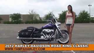 7. Used 2012 Harley Davidson Road King Classic Motorcycles for sale - Ft. Myers FL