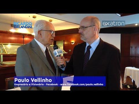 Ricardo Orlandini entrevista o administrador Paulo Amorim, o professor Paulo Gerhardt, o empresário Paulo Vellinho e engenheiro Rafael Gonçalves