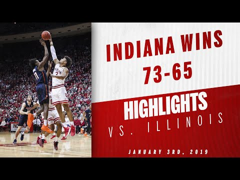 IUBB - Indiana vs. Illinois Highlights (01/03/19)