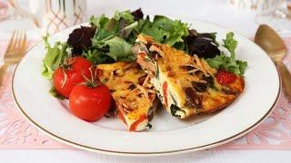 Veggie Breakfast Casserole | Brunch Month by The Domestic Geek