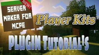 This video explains how to use the Kits plugin featured in Server Maker for Minecraft PE, the #1 app to create your own MCPE Server.You can find the application here: Android:https://play.google.com/store/apps/details?id=com.bawztech.mcpeservermakerApple/IOS:https://itunes.apple.com/us/app/server-maker-for-minecraft-pe/id1138832899?mt=8This video was sponsored by one of our users, SnowDriven.You guys should definitely check his channel out it can be found here: https://www.youtube.com/channel/UCzWVOup-HVORNT_XhJm_6CAThe game you see featured in this video is Minecraft: Pocket Edition, this game is published by Mojang, a company owned by Microsoft. We do not have any affiliation with them, nor are we endorsed with them. This video exists for informational purposes only.