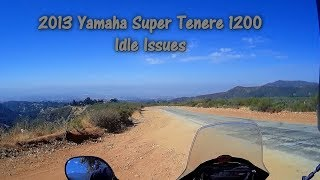 4. 2013 Super Tenere Idle Issue