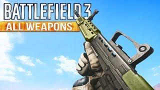 Battlefield 3 Gun Sounds of All Weapons
