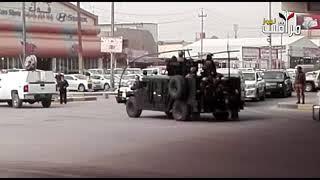 قوات مشتركة تداهم منطقة القبلة وسط البصرة