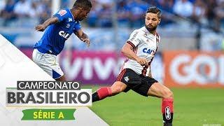 Com gols de Éverton, para o Flamengo, e Sassá, para o Cruzeiro, o duelo entre cariocas e mineiros da 14ª rodada do Brasileirão...