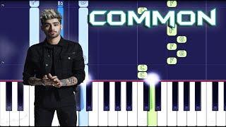 ZAYN - Common Piano Tutorial EASY (Icarus Falls) Piano Cover