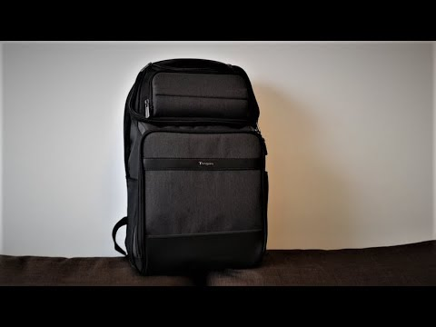 "Review Targus CitySmart 15.6"" - Professional Laptop Backpack - Black/Grey"
