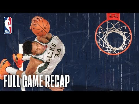 Video: BUCKS vs PACERS | Giannis Puts Up MONSTER Numbers | February 13, 2019