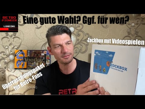 RetroPioneer Video zu Zockbox
