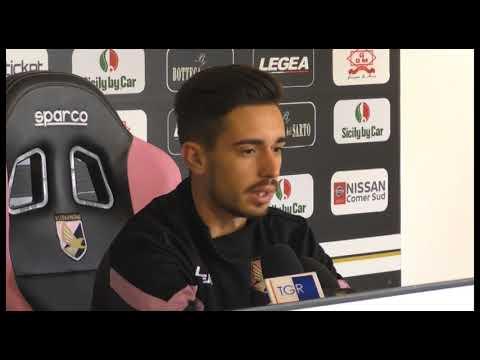 Palermo, Coronado in conferenza stampa